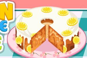 Jeu de cake au citron