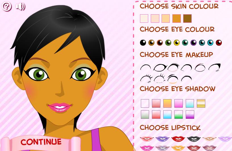 Jeux de maquillage et coiffure et habillage - Jeux de d habillage ...