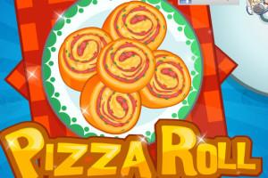 Jeu de pizza roulées