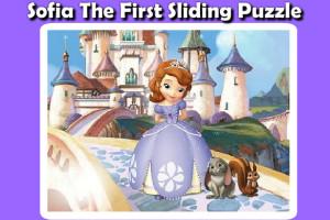 Jeu de puzzle princesse