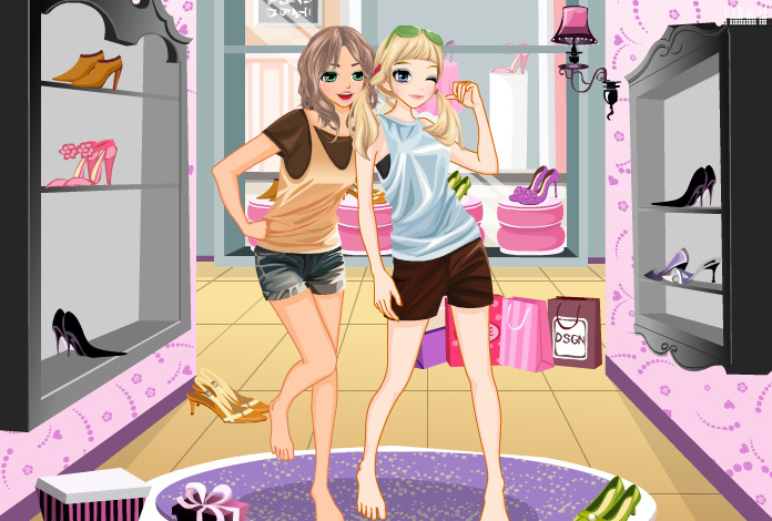 jeu de fille habillage a la mode