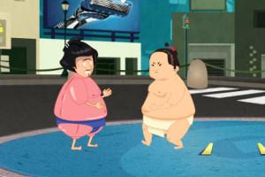 Jeu de sumo