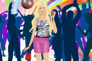 Jeu de Barbie en boîte de nuit