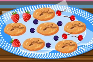 Jeu de cookies aux noisettes