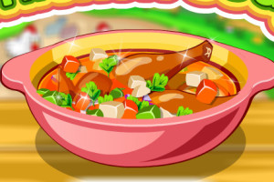 Jeu de soupe au poulet