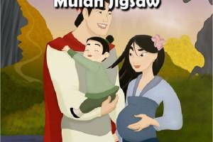 Jeu de puzzle avec Mulan