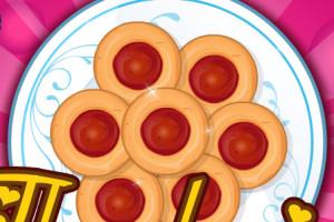 Jeu de tartes aux fraises